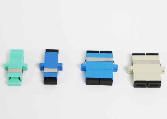 Adaptador de la fibra óptica de la manga de Zrconia con pérdida de alto retorno de la denuncia de ROHS