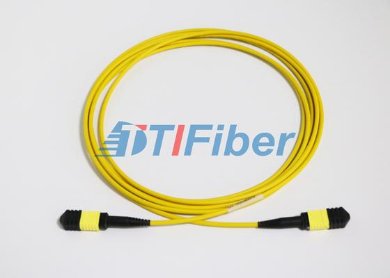 Cordones de remiendo unimodales de la fibra óptica del UPC/de APC MTP con la chaqueta de LSZH
