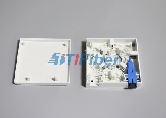 El panel del zócalo del puerto de la caja de empalme de la fibra óptica del adaptador de la fibra del SC/del LC 2