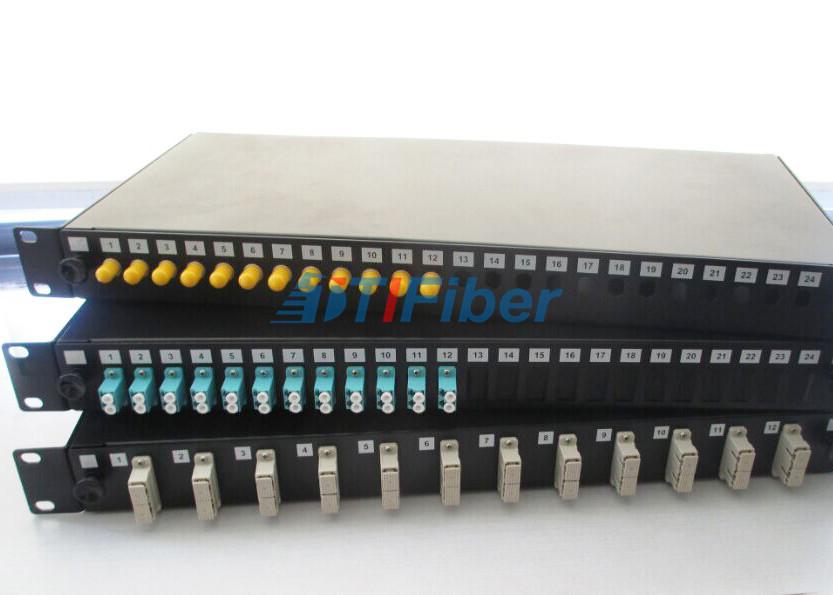 """9c969c5e1e China 19"""" caja de conexiones para los conectores del SC FC del ST del  LC"""